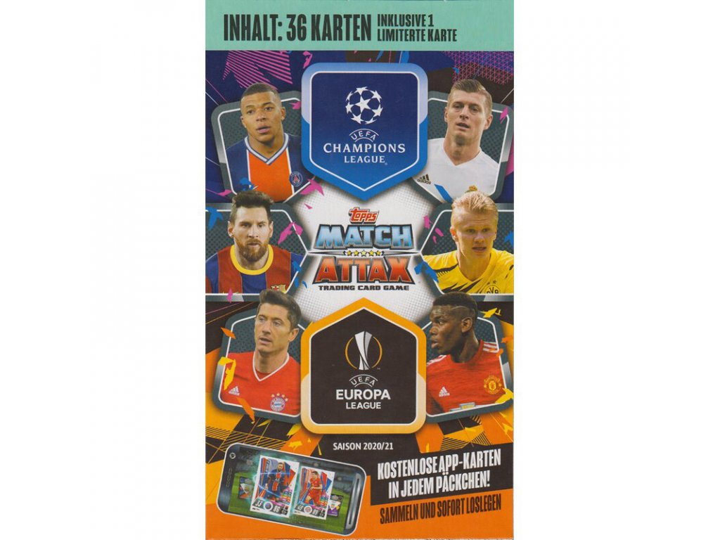 topps champions league 2020 21 trading cards 1 blister