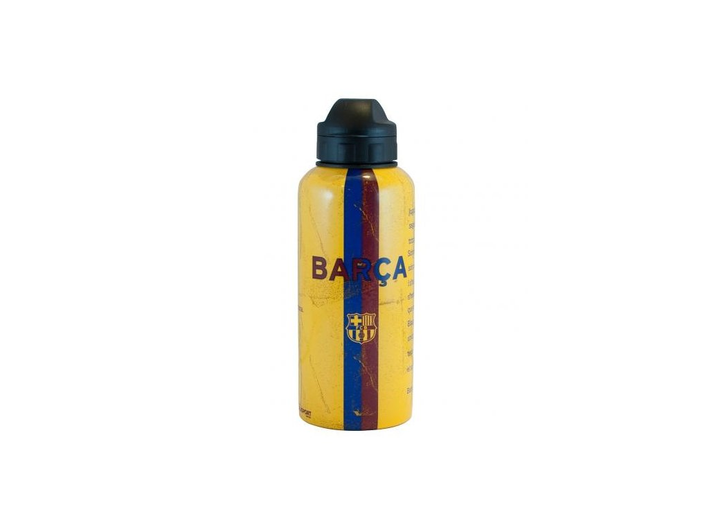 Láhev BARCELONA FC alu yellow  400 ml