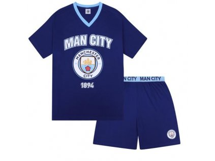Pyžamo MANCHESTER CITY SLab short navy