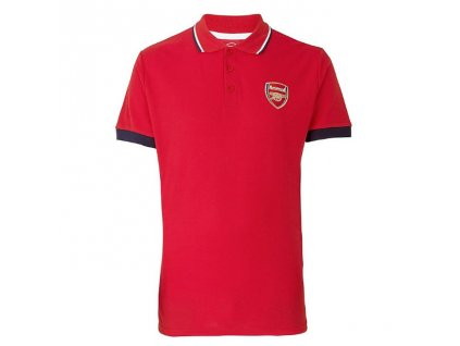 Polo ARSENAL FC Classic red