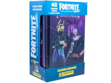 fortnite 2 reloaded trading cards 1 tin box