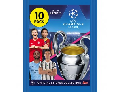 topps champions league 2020 21 sticker 1 tuete