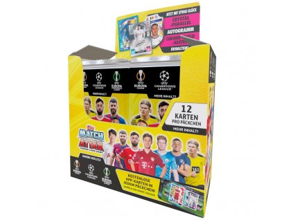 topps champions league 2021 22 trading cards 1 display 24 booster