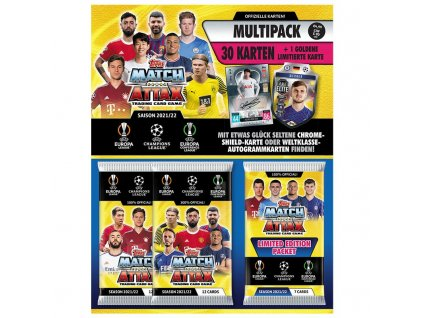 topps champions league 2021 22 trading cards 1 multipack