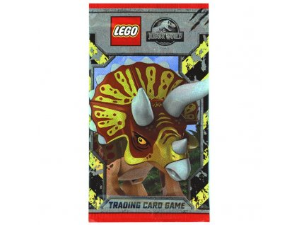 lego jurassic world trading cards 1 booster