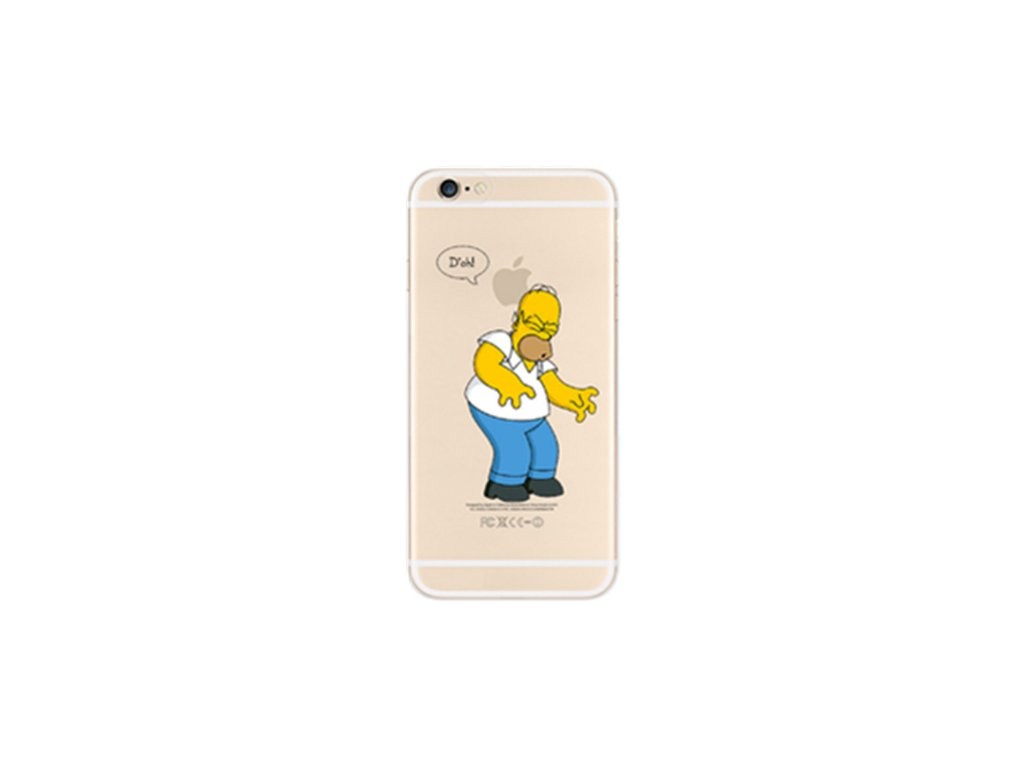 Simpsonovi kryt pro iPhone 7 Plus - Homer (D'oh!)