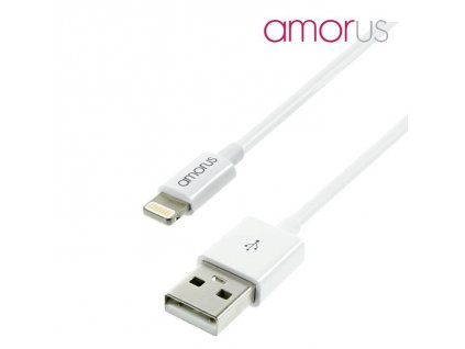0000126 amorus mfi 1m lightning 8pin charging and data sync cable for iphone ipad ipod