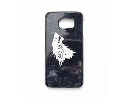 Game of Thrones kryt pro Samsung S6 Edge - Winter is Coming