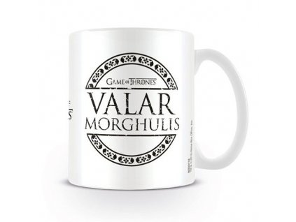 982 hrnek game of thrones valar morgulis