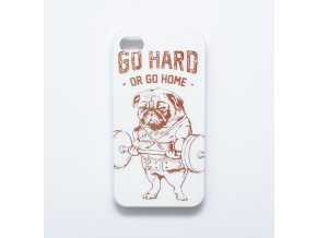 Kryt pro iPhone 4/4S - Go hard or go home