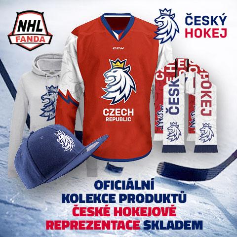 Nová kolekce české hokejové reprezentace
