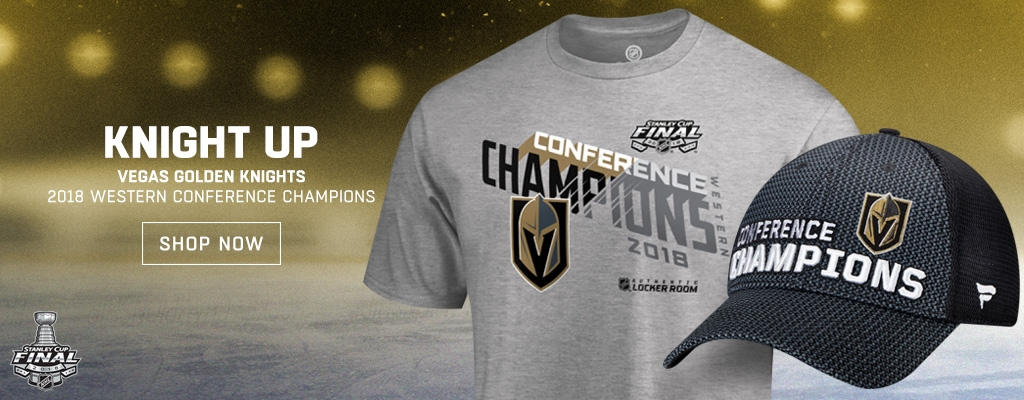 Vegas Golden Knights Western Conference Champions 2018