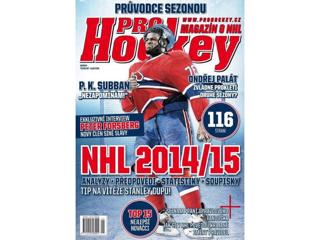 Časopis ProHockey 2014/9 - Průvodce sezonou