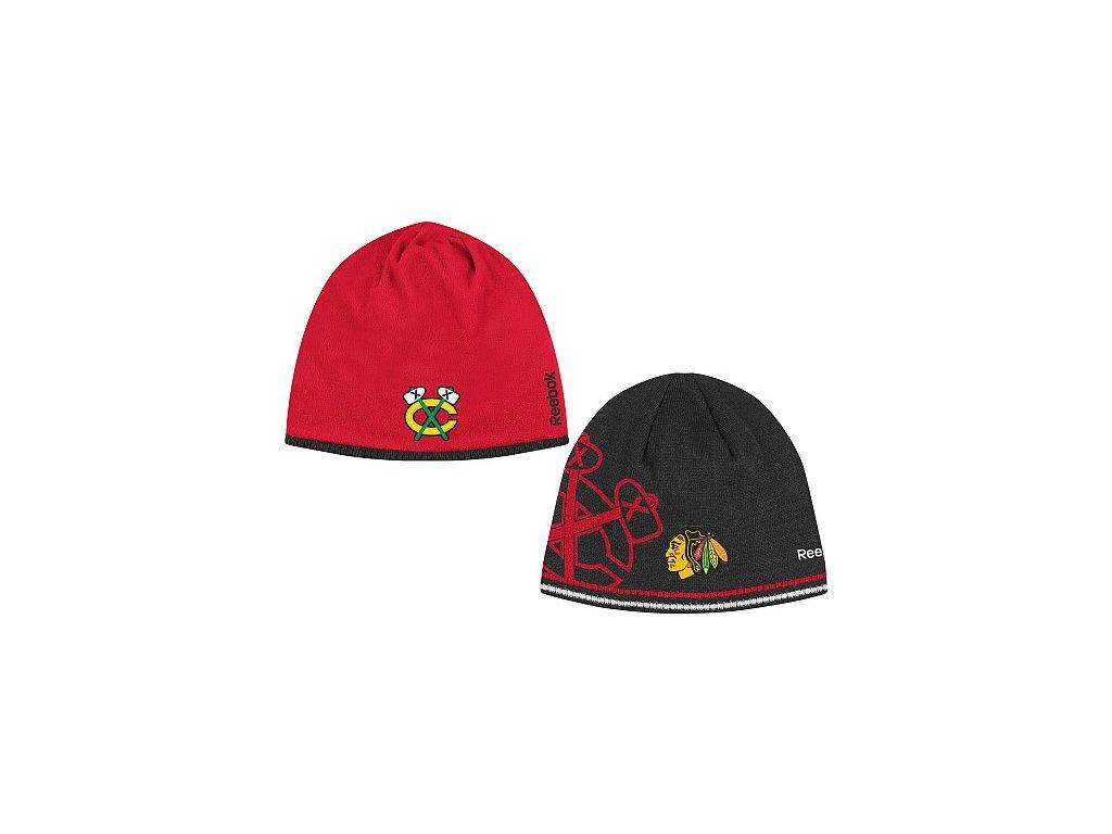 Čepice - Center Ice Reversible 12/13 - Chicago Blackhawks