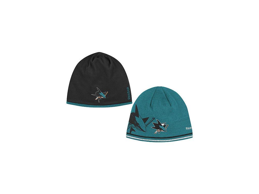 Čepice - Center Ice Reversible 12/13 - San Jose Sharks