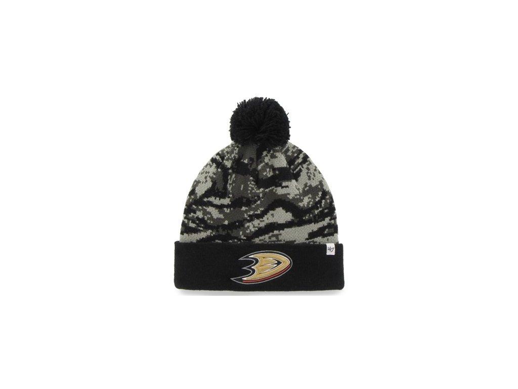 Čepice Anaheim Ducks '47 Brand Tigershade camo