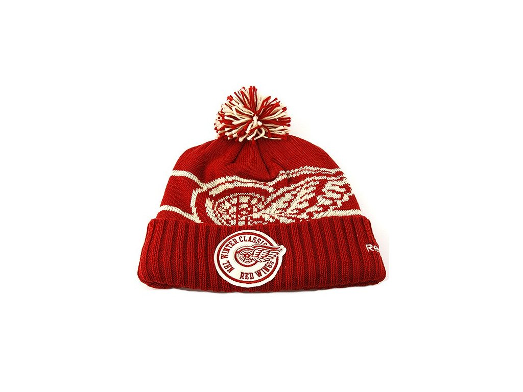 Čepice Detroit red wings  Winter Classic 2014