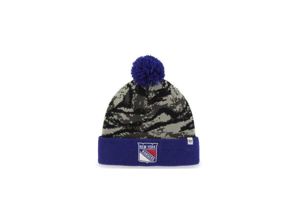 Čepice New York Rangers '47 Brand Tigershade camo