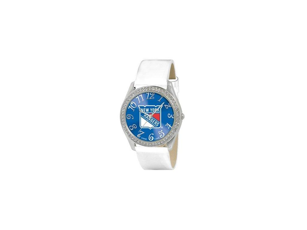 Dámské Hodinky New York Rangers Analog Glitz