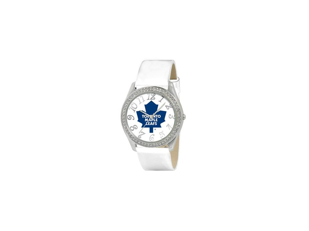 Dámské Hodinky Toronto Maple Leafs Analog Glitz