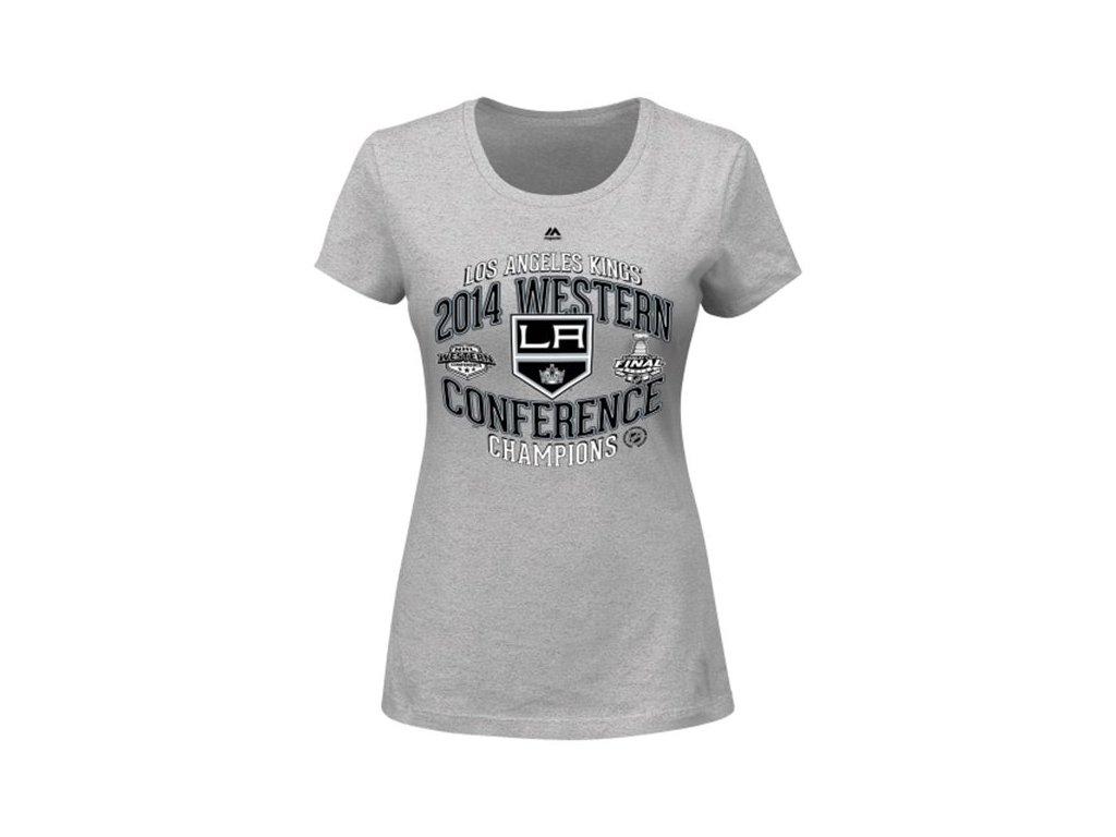 Dámské tričko Los Angeles Kings 2014 Western Conference Champions Five Hole