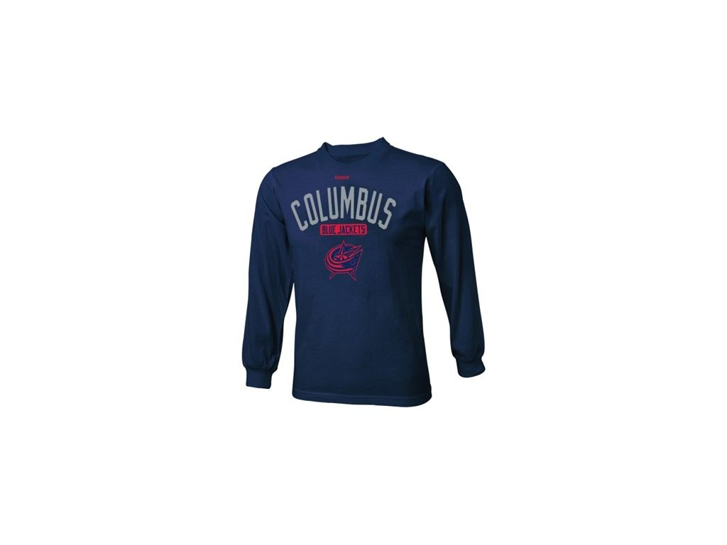 Dětské NHL tričko Columbus Blue Jackets Acquisition - dlouhý rukáv