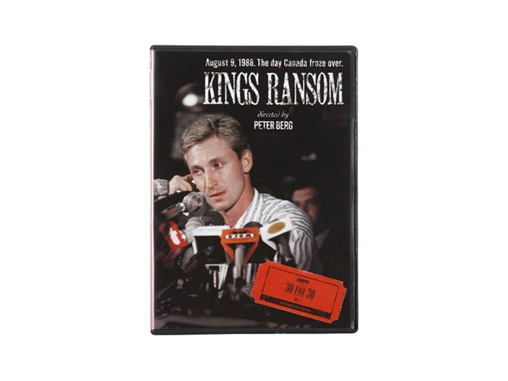 DVD - ESPN 30 For 30: Kings Ransom DVD - Wayne Gretzky