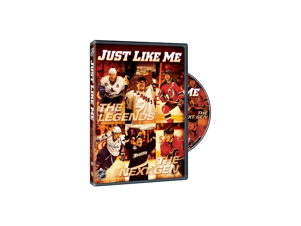 DVD - Just Like Me: Profile of NHL Legends and the New Crop of NHL Stars DVD