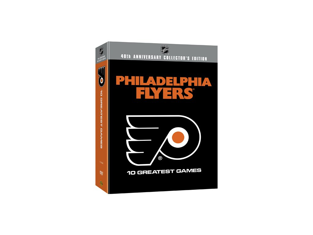 DVD - Philadelphia Flyers 10 Greatest Games set