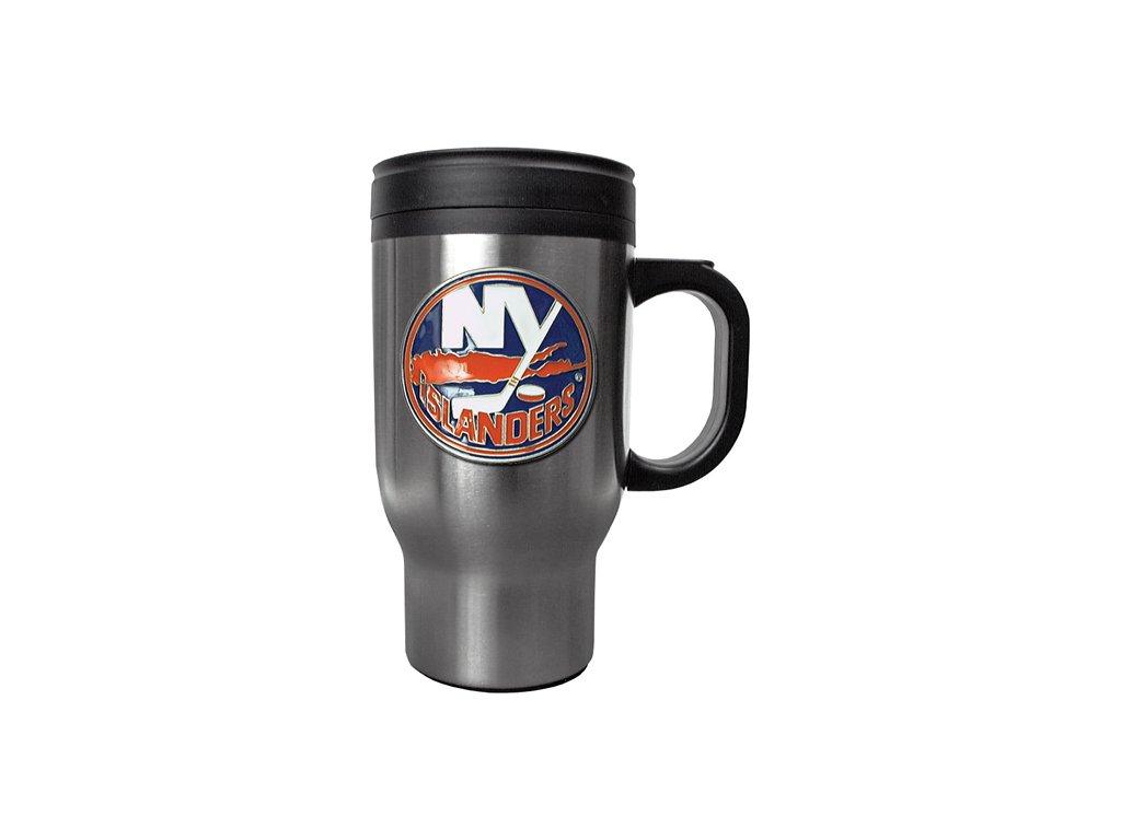 Hrnek - Stainless Steel Travel - New York Islanders