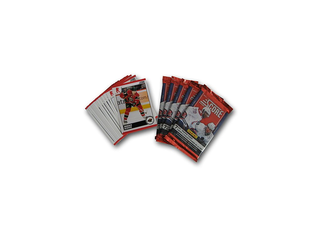 Karty NHL - Minnesota Wild 2010-11 Team Trading Card Set with 6 Card Packs