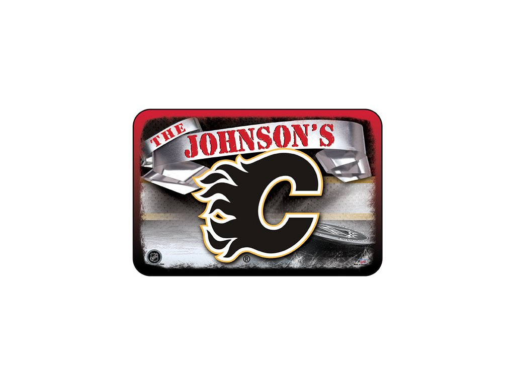 Koberec - Personalized - Calgary Flames 50x75