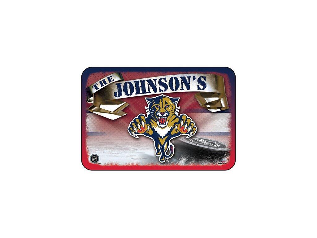 Koberec - Personalized - Florida Panthers 50x75