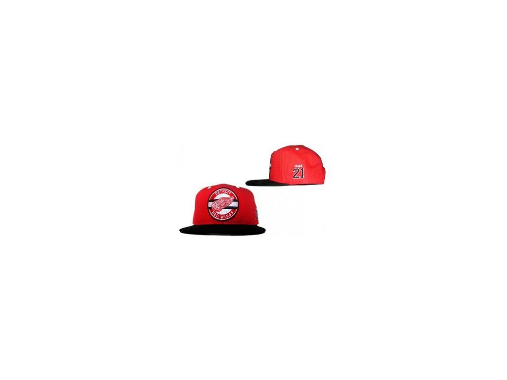 Kšiltovka - #21 - Tatar -Detroit red wings - Snapback - poslední kusy