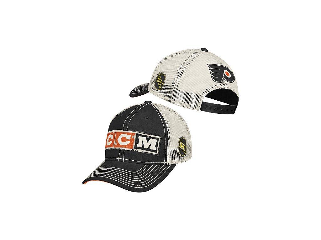 Kšiltovka - CCM Meshback Trucker - Philadelphia Flyers
