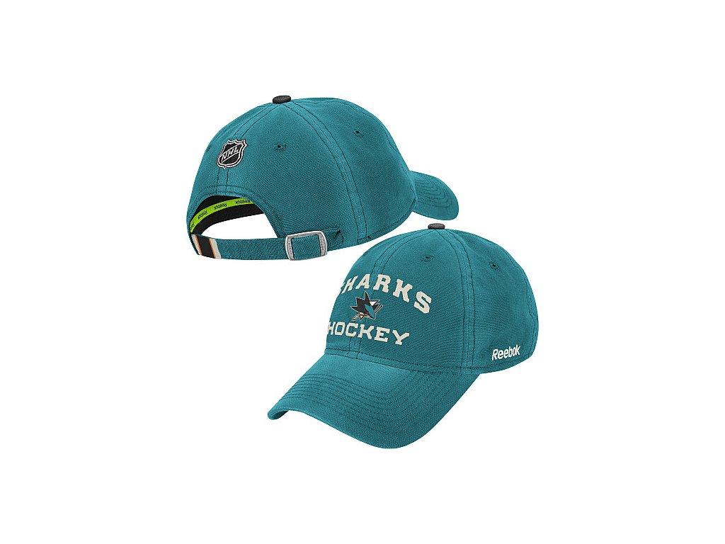 Kšiltovka - Center Ice Slouch - San Jose Sharks