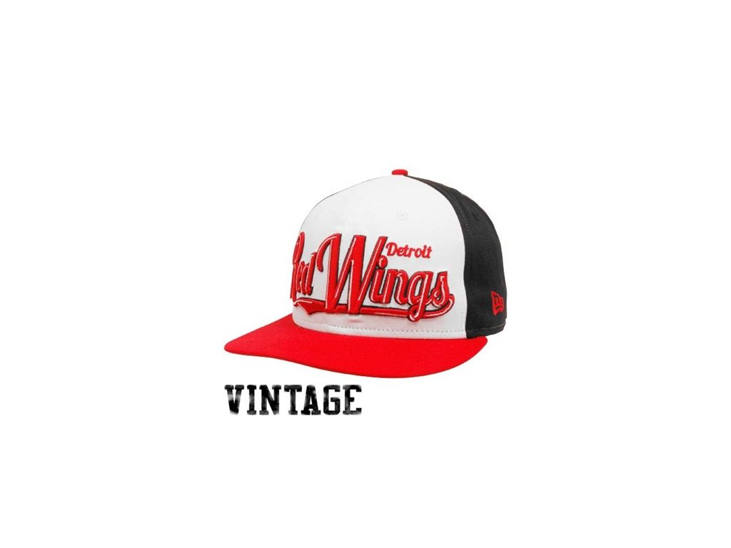 Kšiltovka - Detroit Red Wings White-Red-Black  9FIFTY snapback