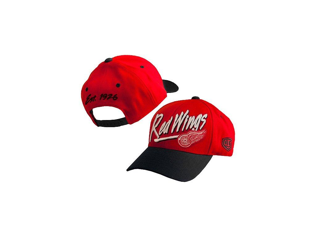 Kšiltovka - Ozzie - Detroit Red Wings - dětská