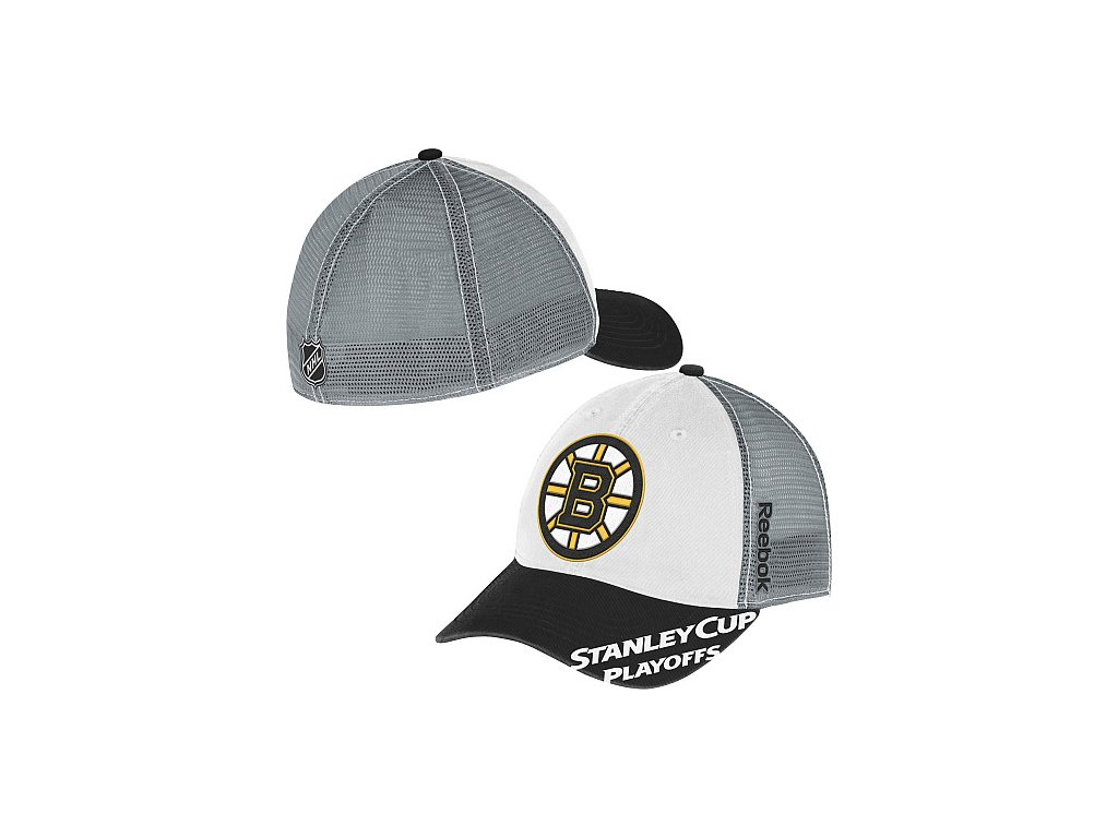 Kšiltovka - Playoff Slouch - Boston Bruins