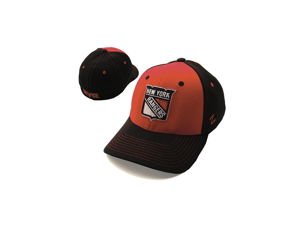 Kšiltovka - Uppercut Z-Fit Stretch - New York Rangers