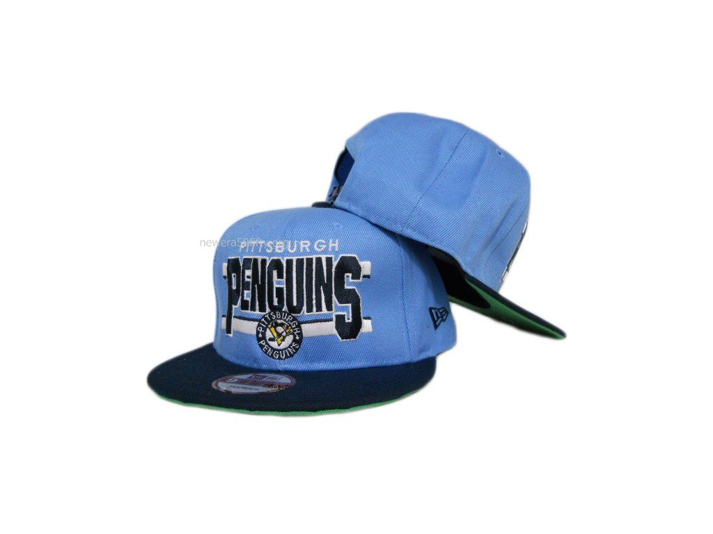 Kšiltovka -Pittsburgh penuins BLUE/BLACK snapback