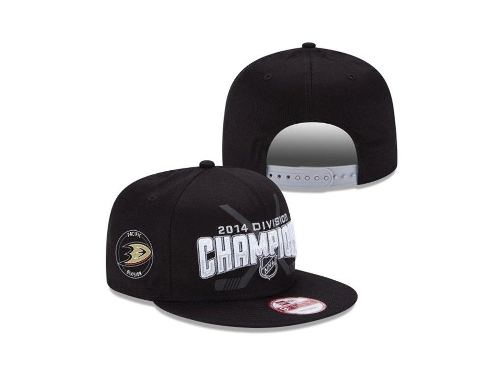 Kšiltovka Anaheim Ducks Pacifik Division Champions 2014 snapback