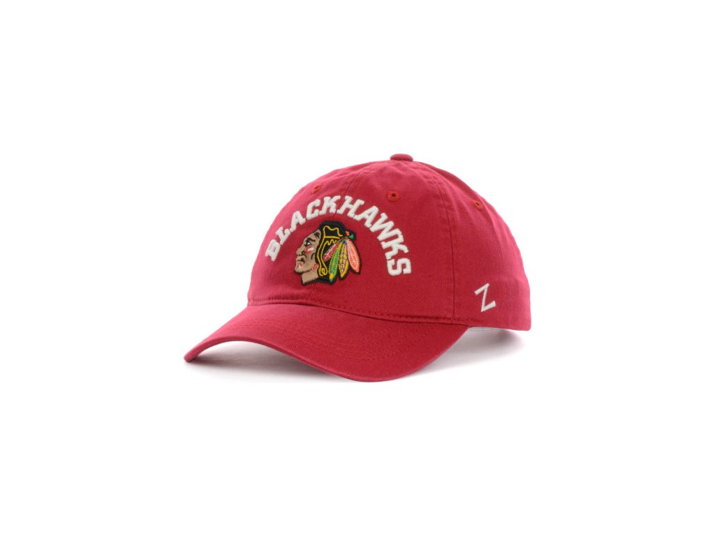 Kšiltovka Chicago Blackhawks Centerpiece - červená