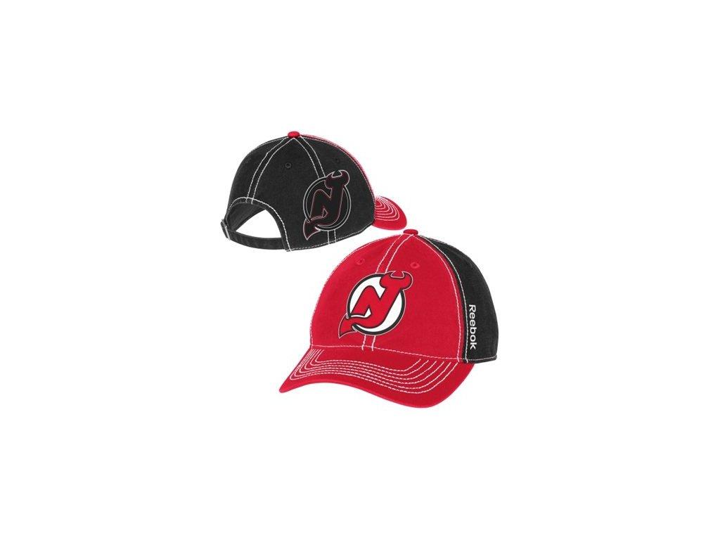 Kšiltovka New Jersey Devils Face-Off Spin Adjustable