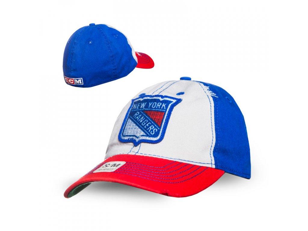 Kšiltovka New York Rangers CCM Flex slouch