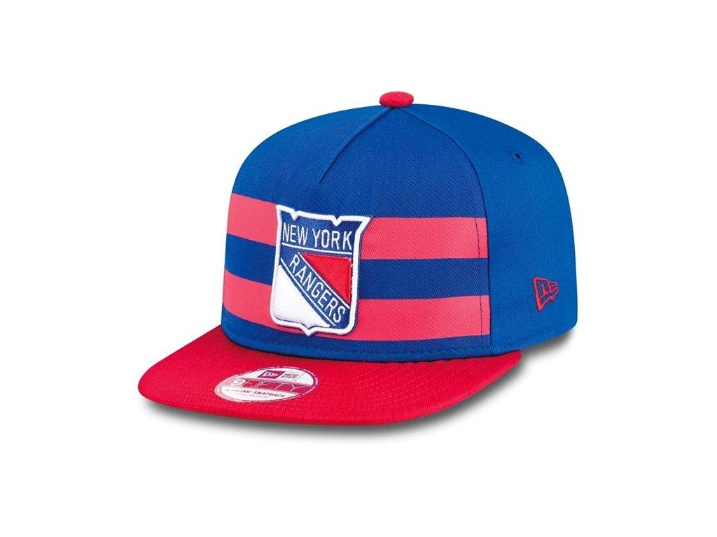 kšiltovka New York Rangers Double Stripe Snapback