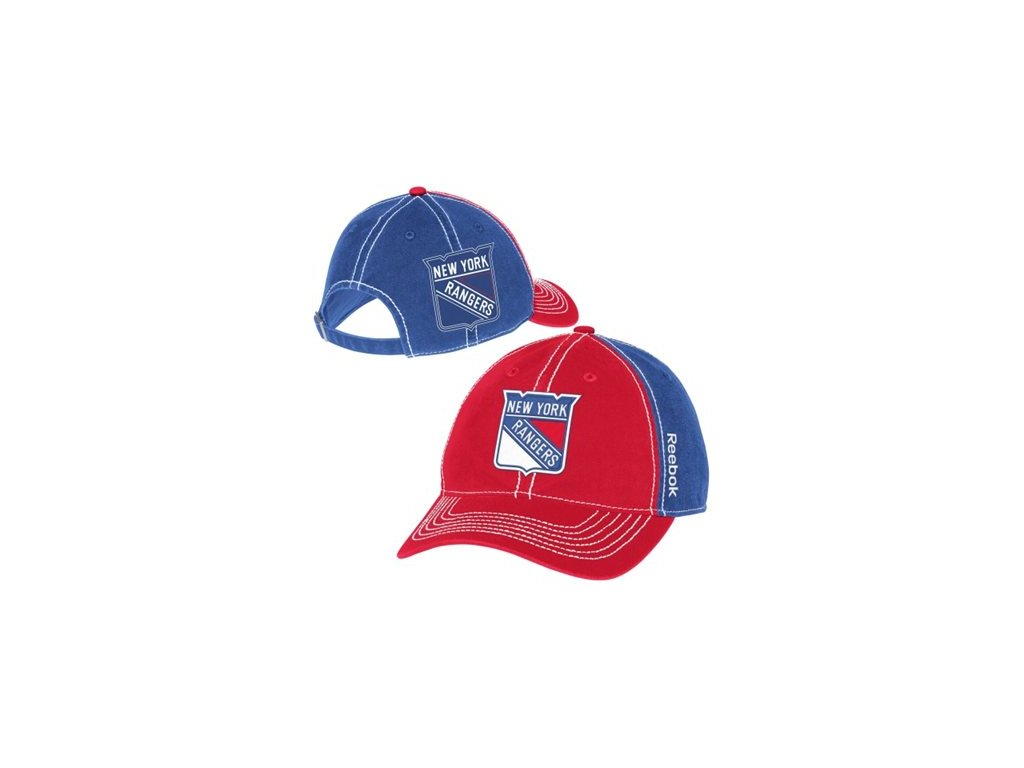 Kšiltovka New York Rangers Face-Off Spin Adjustable