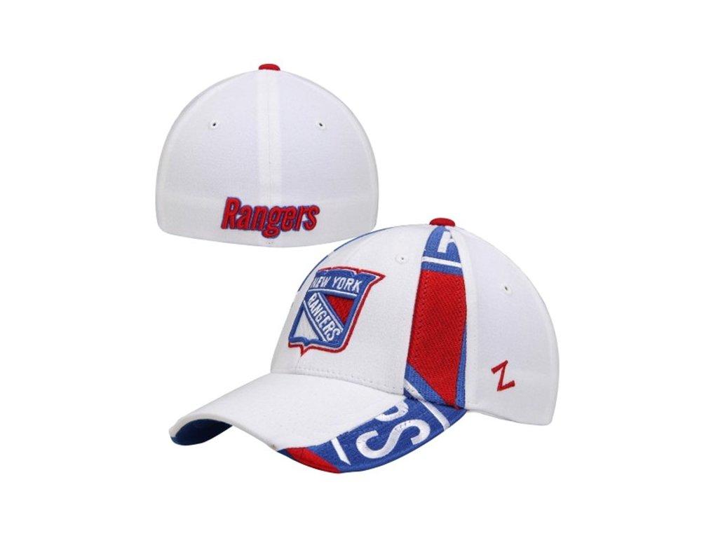 Kšiltovka New York Rangers Standout Z-Fit - bílá