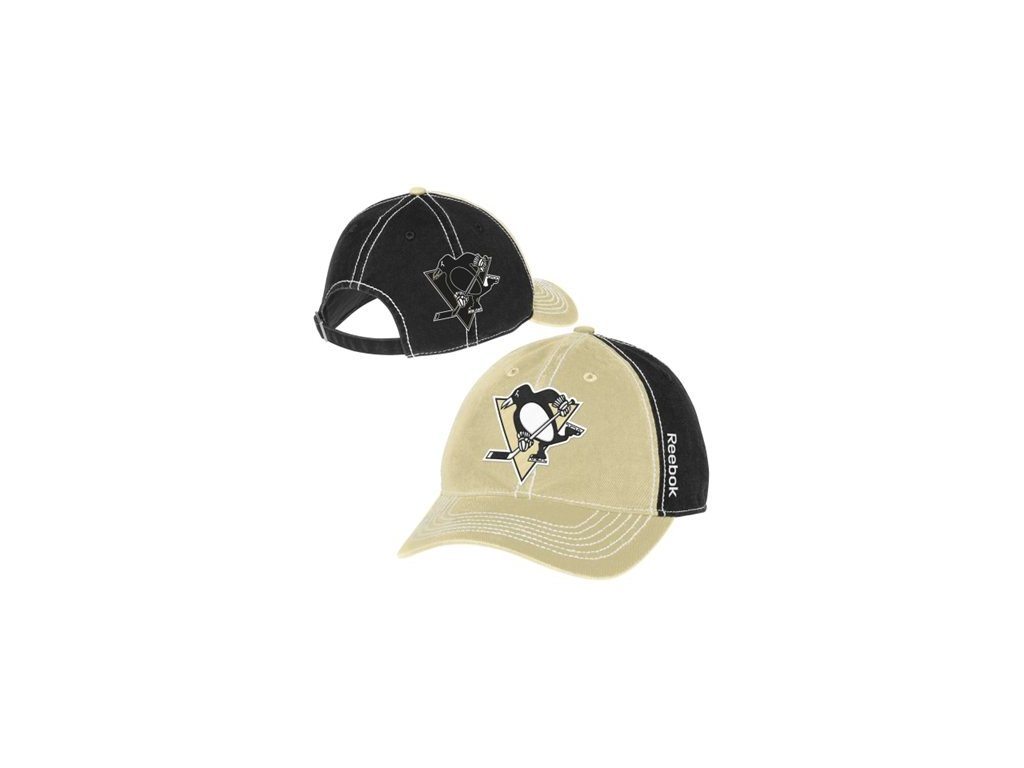 Kšiltovka Pittsburgh Penguins Face-Off Spin Adjustable