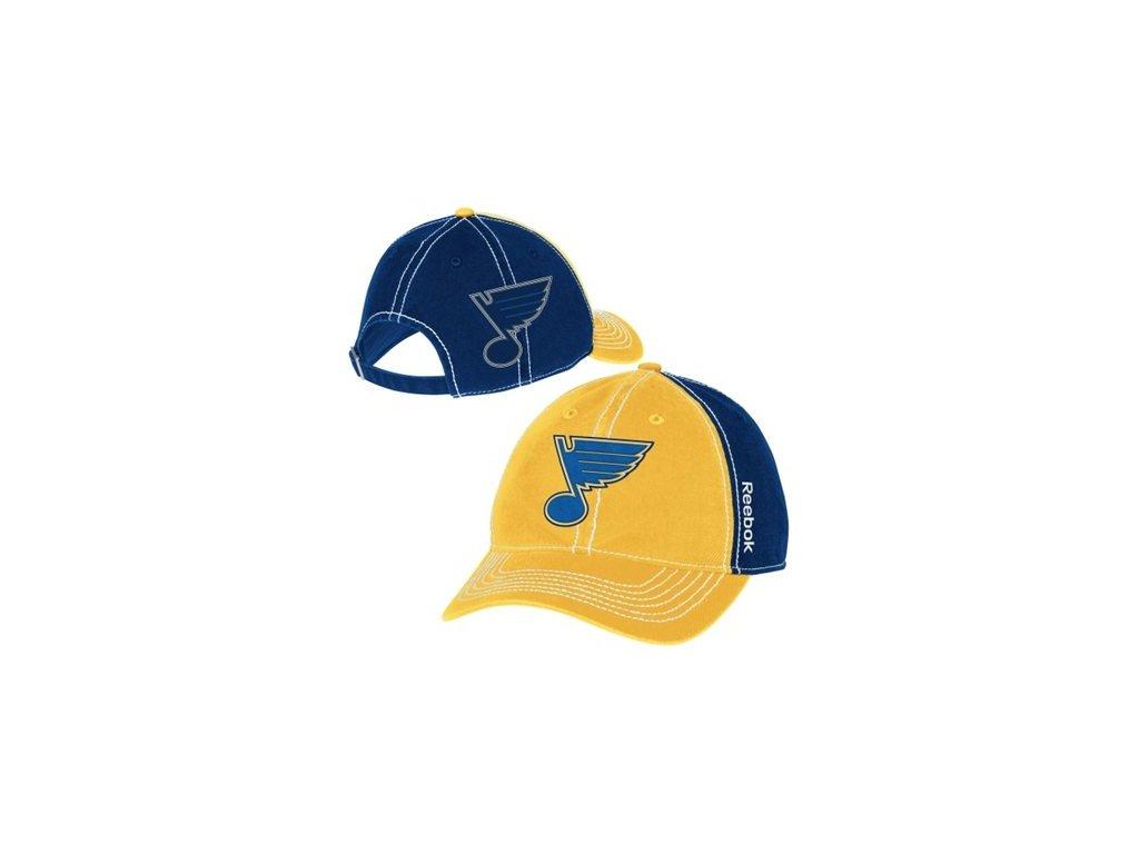 Kšiltovka St. Louis Blues Face-Off Spin Adjustable